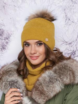 Комплект: шапка и шарф-хомут | 5354769