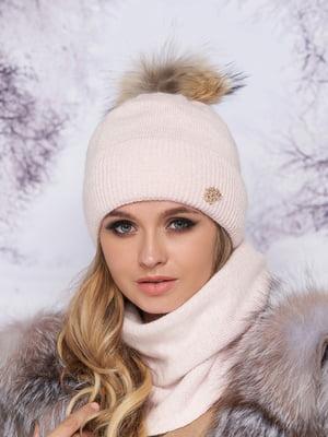 Комплект: шапка и шарф-хомут | 5354774