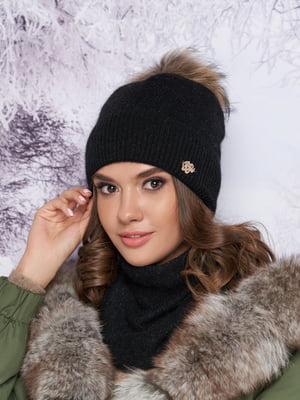 Комплект: шапка и шарф-хомут | 5354776