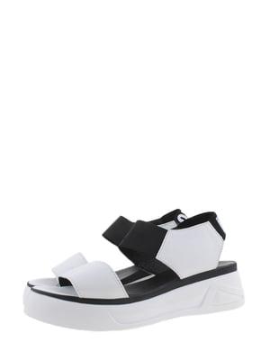 Босоніжки біло-чорні | 5353180