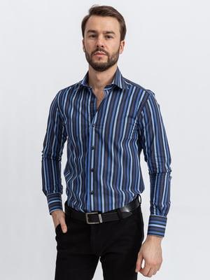 Сорочка синьо-чорна | 5356456