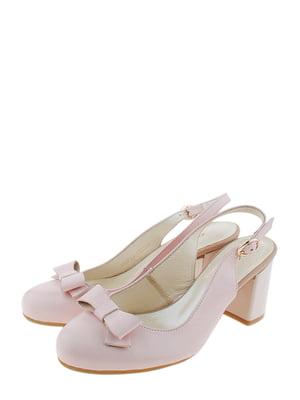 Туфлі кольору пудри | 5356528