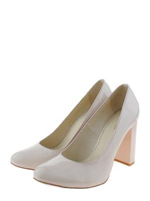 Туфлі бежеві | 5356530