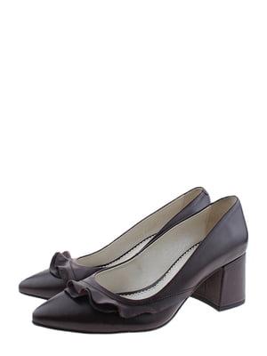 Туфлі бордові | 5356535