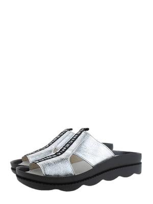 Шльопанці сріблясті | 5352502