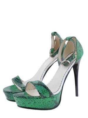 Босоніжки зелені | 5356552