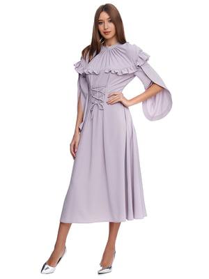 Платье сиреневого цвета | 5340148