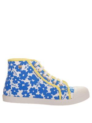 Кеды бело-синие | 5356775