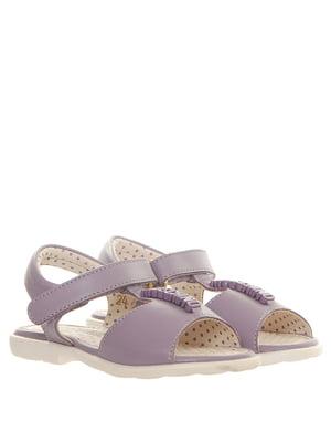 Босоніжки фіолетові | 5356849