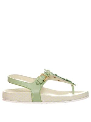 Босоніжки зелені | 5356862