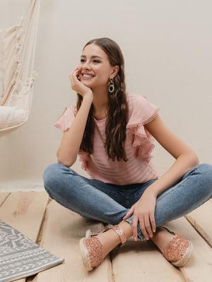 Блуза розовая | 5355089