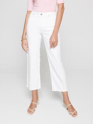 Кюлоти білі джинсові | 5355154