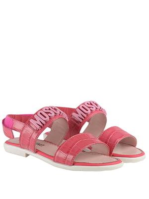 Босоніжки рожеві | 5356789