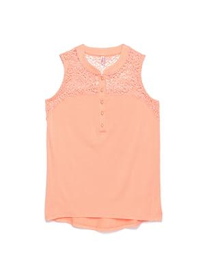 Блуза персикового цвета | 4271029