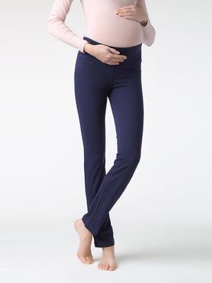 Легінси сині для вагітних | 5355957