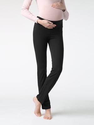 Легінси чорні для вагітних | 5355958