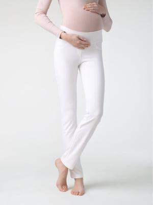 Легінси білі для вагітних | 5355959