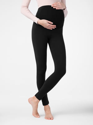 Леггинсы черные для беременных | 5355992