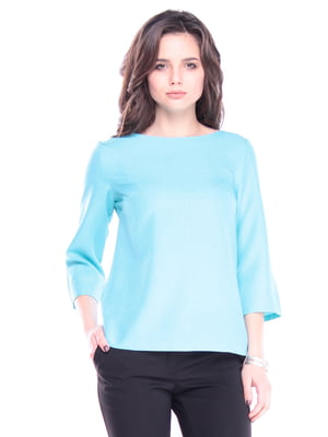 Блуза ментолового цвета | 5357140
