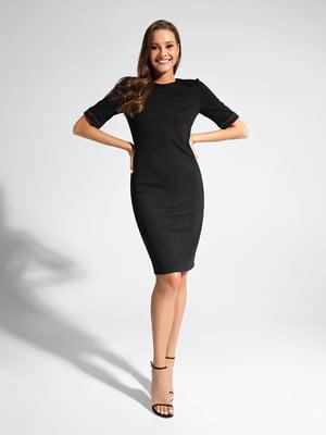 Сукня чорна зі смужкою | 5356006