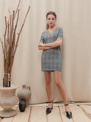 Сукня сіра картата | 5356026