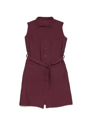Сукня бордова | 5356031