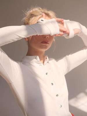 Гольф белый - Lipinskaya Brand - 5357937