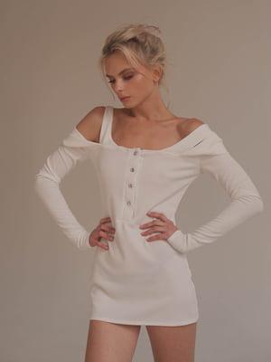 Кофта удлиненная белая - Lipinskaya Brand - 5357943