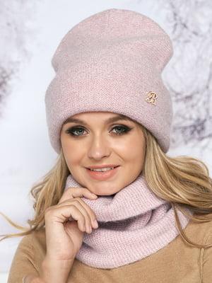 Комплект: шапка и шарф-хомут | 5354752