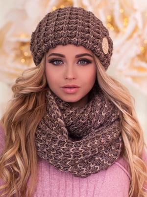 Комплект: шапка и шарф-снуд | 5354568