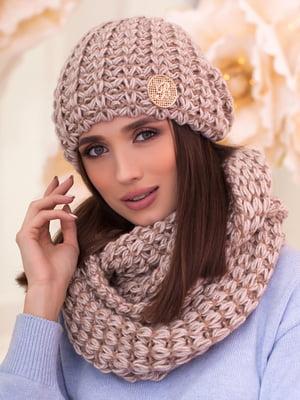 Комплект: шапка и шарф-снуд | 5354569