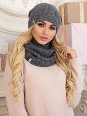 Комплект: шапка и шарф-хомут | 5354529