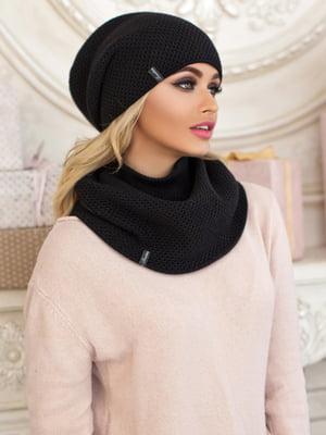 Комплект: шапка і шарф-хомут | 5354530