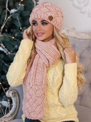 Комплект: шапка і шарф | 5354557