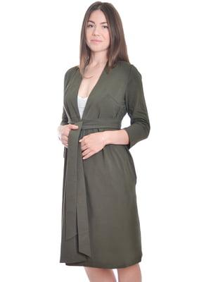 Халат зелено-м'ятного кольору | 5358358