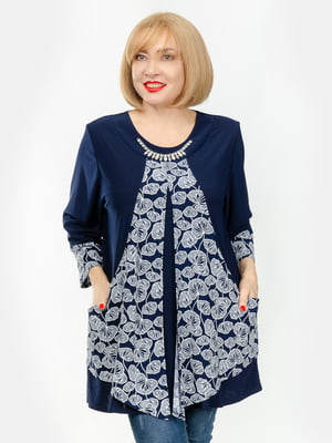 Блуза синя   5358482