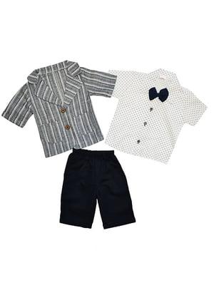 Костюм: бриджі, сорочка і піджак   5358805