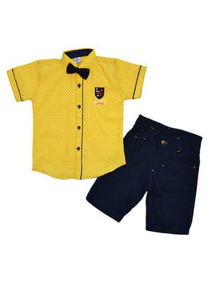 Костюм: рубашка, шорты и бабочка | 5358827
