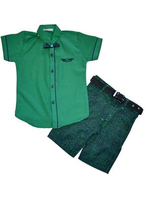 Костюм: рубашка, шорты и бабочка | 5358828