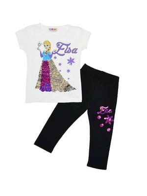 Комплект: футболка і легінси | 5358839