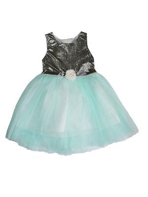 Платье комбинированной расцветки   5358844