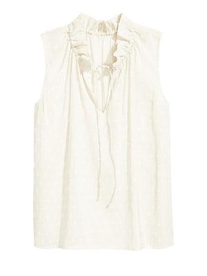 Блуза молочного кольору   5359461