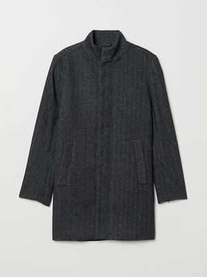 Пальто темно-серое | 5359465