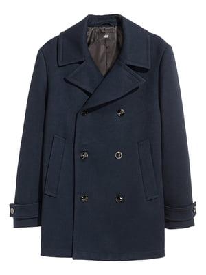 Пальто темно-синє | 5360057
