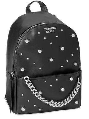 Рюкзак чорний з декором | 5360182