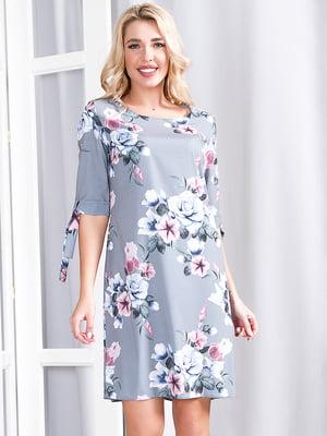 Сукня сіро-рожева | 5360337