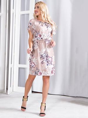 Платье бежевое | 5360349