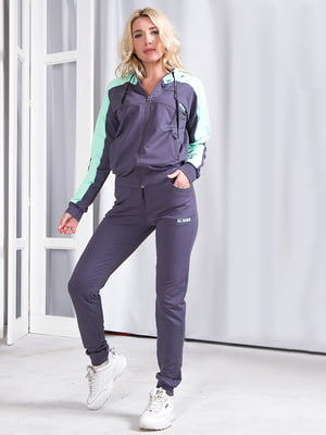 Костюм спортивный: кофта и брюки | 5360376