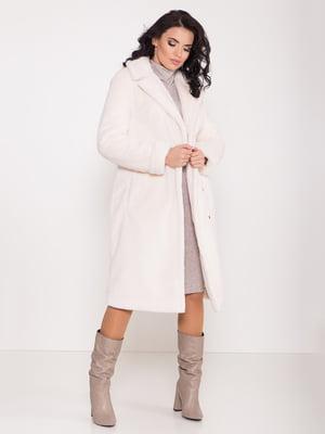 Пальто молочного цвета | 5358245
