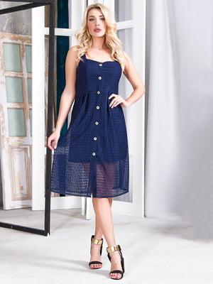 Сукня синя | 5360356